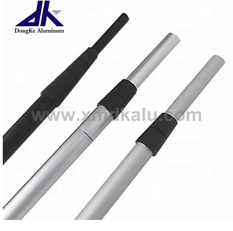 Aluminum telescopic pole with twist lock for multipurpose