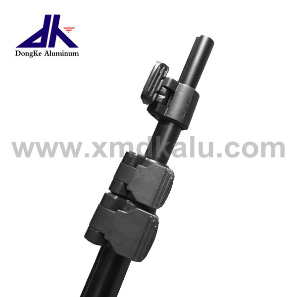 Aluminum Telelscopic Pole With Lock Mechanism For Outdoor Activity