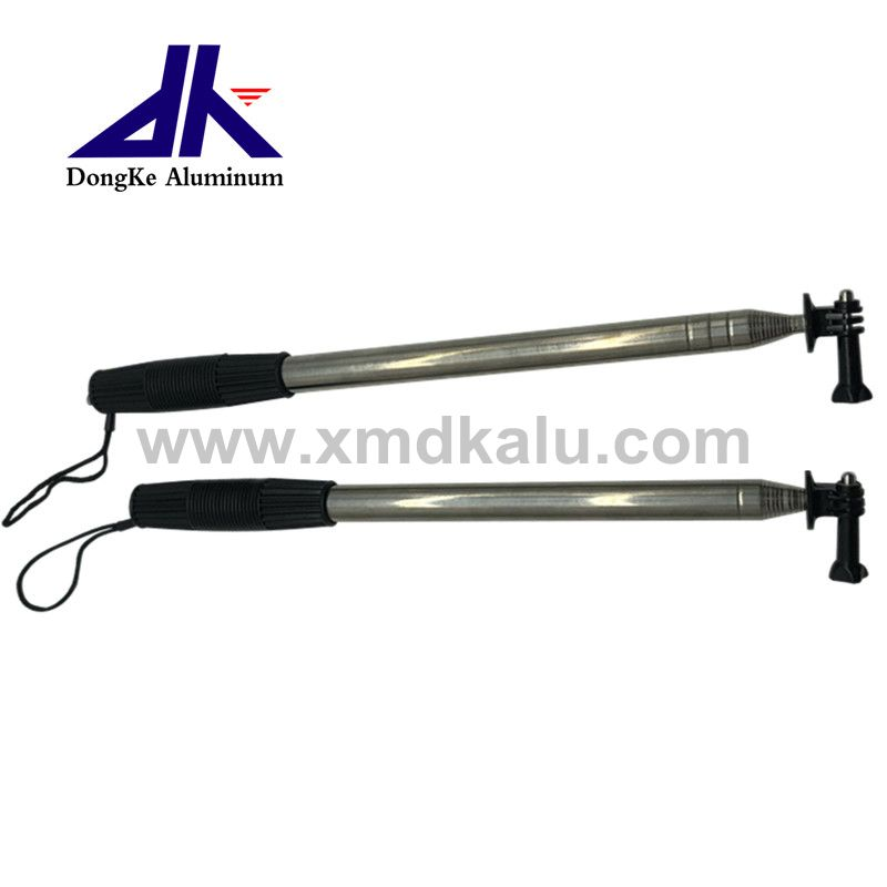 light weight stainless steel adjustable tube antenna with handle