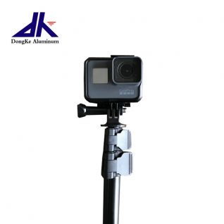 Strong aluminum telescopic pole for monopod, camera and phone