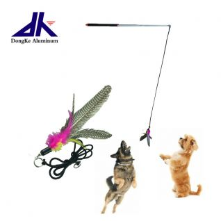 Telescopic Interactive Cat Dog Toy Training Rod